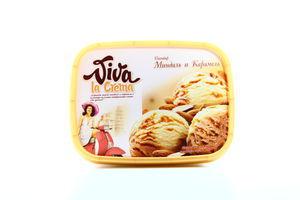 Морозиво Viva Мигдаль-карамель судок 587г