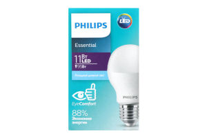 Лампа світлодіодна Philips ESS LEDBulb 11W E27 6500K 230V 1CT/12RCA