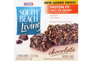 Kraft South Beach Living Chocolate Cereal Bars