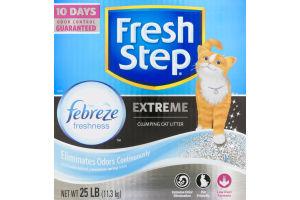 Fresh Step Extreme Clumping Cat Litter Febreze Freshness