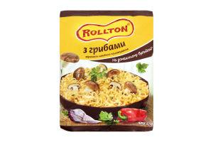 Вермишель быстрого приготовления на домашнем бульоне с грибами Роллтон м/у 60г