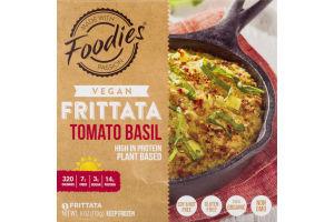 Foodies Vegan Frittata Tomato Basil