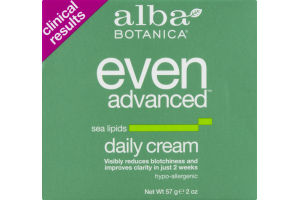 Alba Botanica Daily Cream Even Advanced Sea Lipids