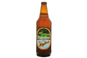 Пиво 0.5л 3.7% світле непастеризованне Бердичівське Жигулівське пл