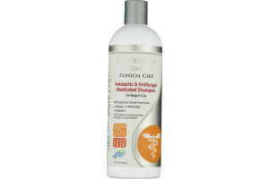 Veterinary Formula Clinical Care Medicated Shampoo for Dogs & Cats Antiseptic & Antifungal