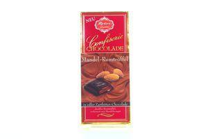 Шоколад Confiserie Chocolade Mandel-Rumtruffel 100г