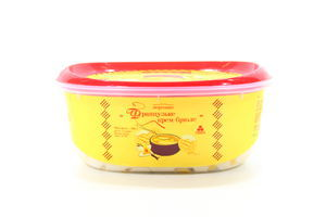 Морозиво Фран.крем-брюл.Рудь пл/лот.500г