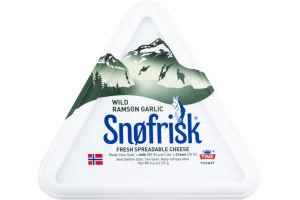 Snofrisk Fresh Spreadable Cheese Wild Ramson Garlic