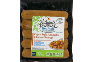 Nature's Promise Chicken Sausage Cajun Style Andouille