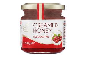 Крем-мед с малиной Nectar Senco с/б 200г