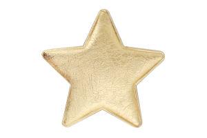 Украшение елочное Звезда 8см D001