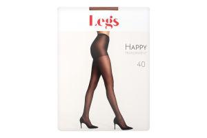 Колготки жіночі Legs Happy 40den №3 amber
