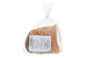 Паляниця половинка в нарізці пшенична Урожайна Миргородський хлібозавод м/у 285г