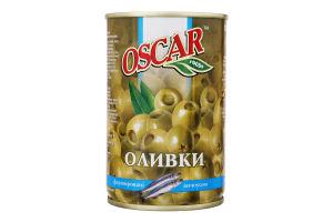 Оливки фаршировані анчоусом Oscar з/б 314мл