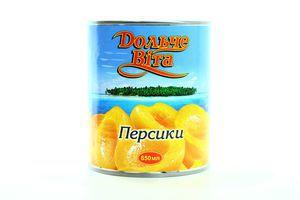 Персики большие Дольче Вита 850мл