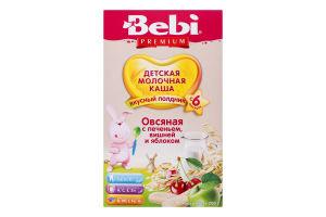 Каша молочна суха для дітей від 6міс Вівсяна з печивом вишнею і яблуком Premium Bebi к/у 250г