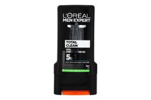 Гель для душу 5в1 Total Clean Men Expert L'Oreal Paris 300мл