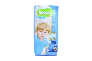 Подгузники д/мальчиков 10-16кг (4+) Ultra Comfort Huggies 60шт