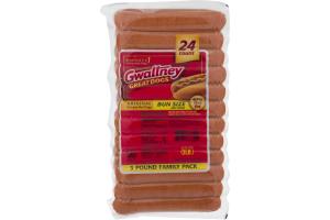 Gwaltney Great Dogs Original Chicken Hot Dogs - 24 CT
