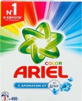 Порошок стиральный с ароматом Lenor Color Ariel 450г