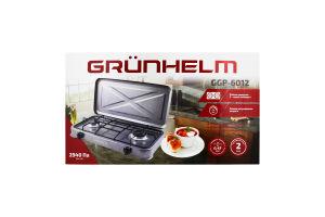 Плита газова настільна з кришкою GGP-6012 Grunhelm 1шт