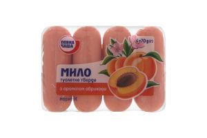 Мыло туалетное Повна Чаша с ароматом абрикоса