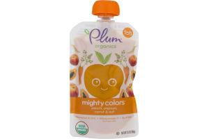 Plum Organics Mighty Colors Peach, Papaya, Carrot & Oat