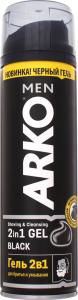 Гель д/бритья ARKO Black 2в1^