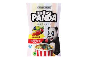 Попкорн в карамелі зі смаком Фруктовий мікс Big Panda д/п 90г