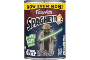 SpaghettiO's Star Wars Fun Shapes Pasta in Tomato and Cheese Sauce