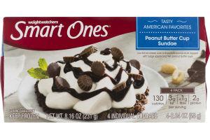 Weight Watchers Smart Ones American Favorites Peanut Butter Cup Sundae - 4 PK