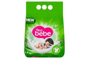 Порошок пральний дитячий Teo bebe Tender Aloe&Natural soap 2,4кг