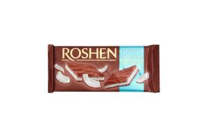 Шоколад Roshen молочний з кокосовою нугою 90г х26