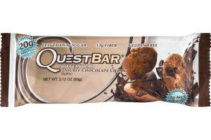 QuestBar Protein Bar Double Chocolate Chunk