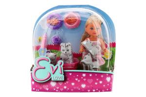 Лялька для дітей від 3-х років №5734191 Animal friends Evi love Simba 1шт