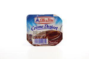 Десерт Elle&Vire Creme Dessert шоколадний з вершками 100г