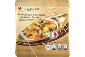 Ahold World Menu Primavera Seasoned Vegetable Medley