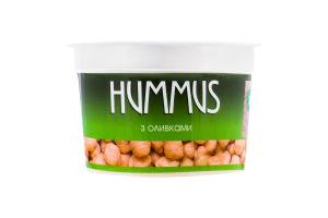Хумус з нуту з оливками Yofi! ст 250г