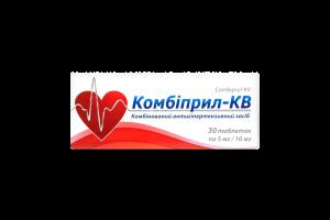 Комбіприл-КВ №30 тб.