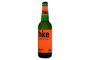 Пиво 5% 0,5л премиум светлое евро Hike ст/б