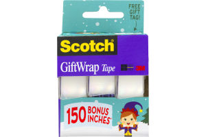 Scotch GiftWrap Tape - 3 CT