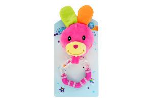 Игрушка для детей от рождения мягкая №F1008 Lindo 1шт