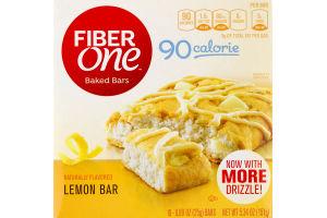 Fiber One Baked Bars Lemon - 6 CT
