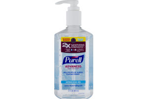 Purell Advanced Hand Sanitizer Refreshing Gel