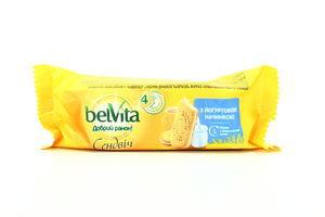 Печенье Belvita Доброе утро! Сэндвич йогурт м/у 50,6г