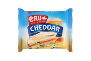 Сыр плавленный 45% сливочный ломтиками Cheddar Eru м/у 150г