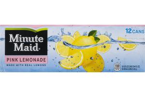 Minute Maid Pink Lemonade - 12 PK