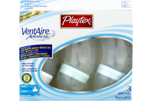 Playtex VentAire Advanced Wide Bottles - 3 CT