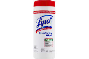 Lysol Disinfecting Wipes - 35 CT