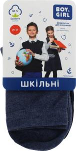 Носки детские Boy&Girl №050 20-22 ассорти 3 пары